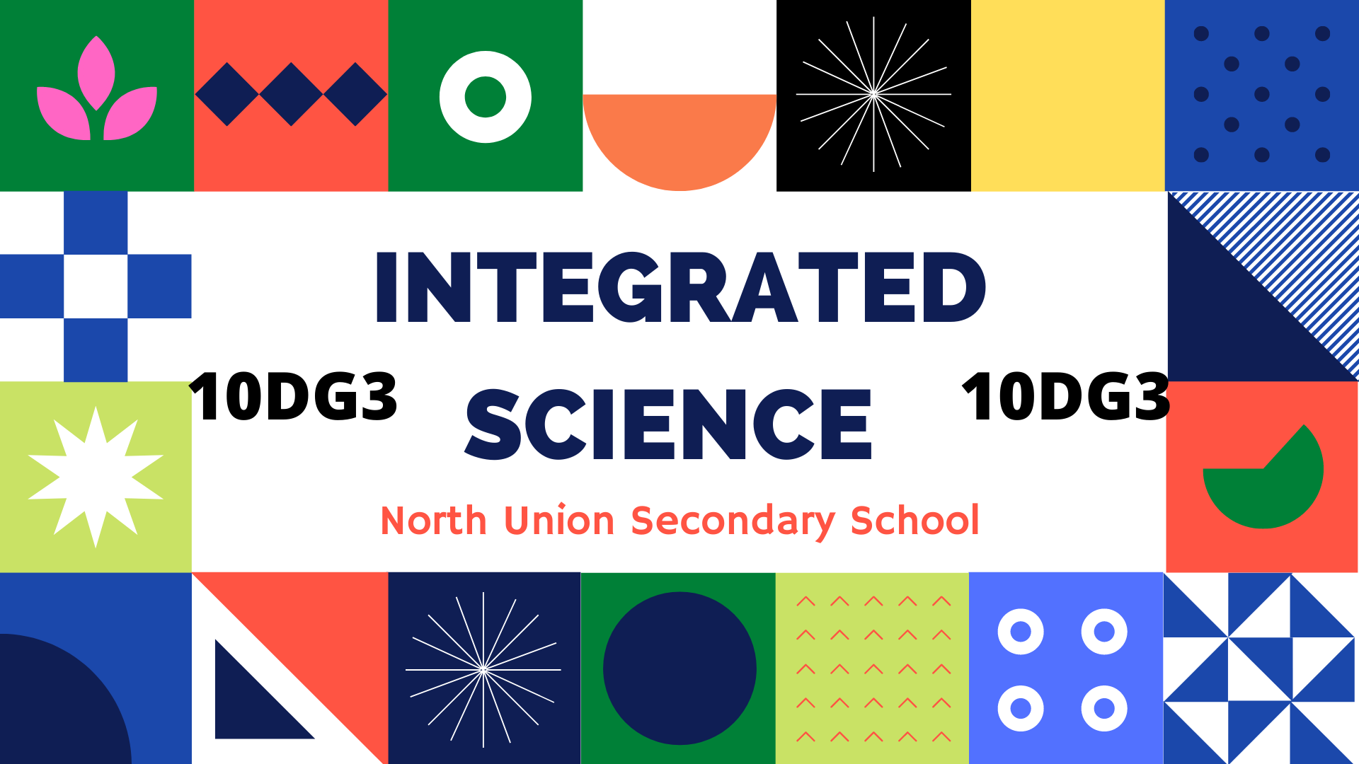 Integrated Science [10DG3]